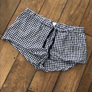 J. Crew Pajama Shorts